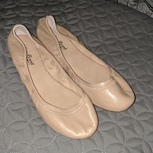 Lucky Brand Ballet flats beige Nude Leather 6.5